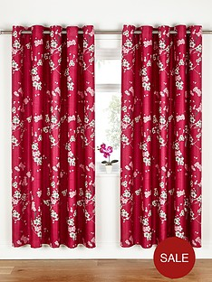 fearne-cotton-cherry-blossom-eyelet-curtains