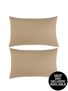 non-iron-percale-180-thread-count-housewife-pillowcases-pair