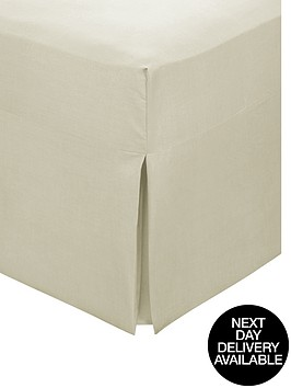 non-iron-percale-fitted-valance-sheet