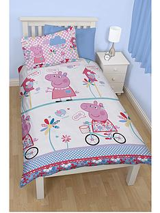 peppa-pig-tweet-rotary-single-duvet-cover-set