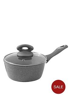 salter-everest-18-cm-marblestone-saucepan-grey