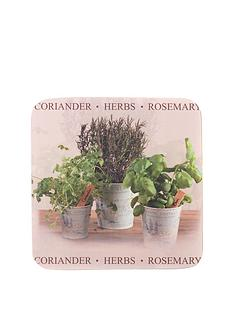 hardwood-herb-coasters-and-placemats-set