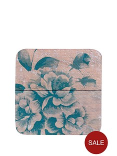 hardwood-vintage-chatswoth-coaster-and-placemat-set