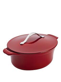 anolon-cast-iron-27-cm-38-litre-oval-casserole