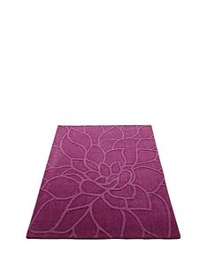 chrysanthemum-wool-rug