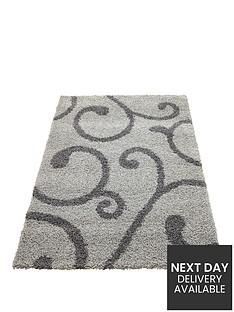 orient-swirl-shaggy-rug