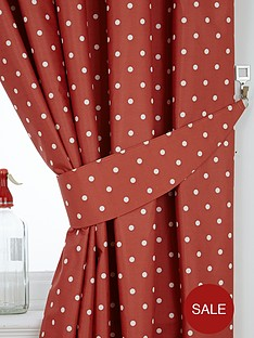 polka-dot-thermal-kitchen-curtain-tiebacks