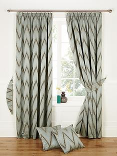 india-jacquard-lined-pleated-curtains