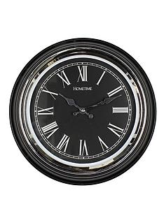 roman-numeral-clock-black
