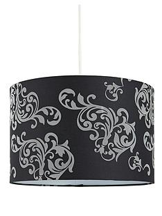 black-damask-easy-fit-pendant