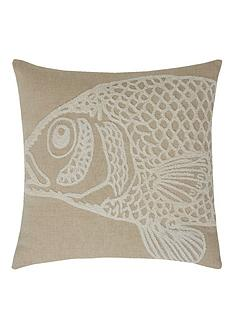 fish-boucle-filled-cushion