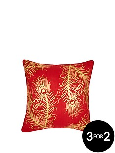 laurence-llewelyn-bowen-aubrey-peacock-feather-cushion