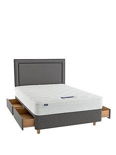 silentnight-miracoil-emma-cushion-top-divan-bed-with-optional-storage-includes-headboard