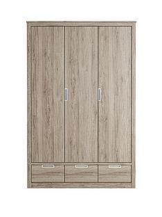 jakarta-3-door-3-drawer-wardrobe