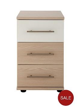 consort-putney-ready-assembled-3-drawer-bedside-cabinet