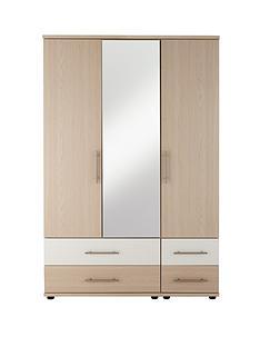 consort-putney-3-door-4-drawer-mirrored-wardrobe