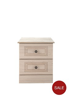 consort-willow-2-drawer-ready-assembled-bedside-cabinet-light-oak