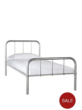 kidspace-dexter-metal-bed-with-optional-standard-or-premium-mattress