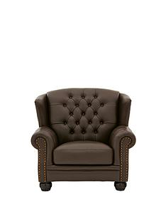 harrington-faux-leather-armchair