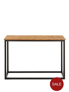 industrial-soild-top-console-table