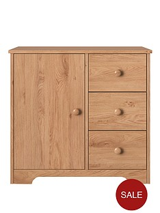 oxford-1-door-3-drawer-compact-sideboard