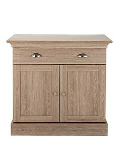 consort-valencia-ready-assembled-2-door-2-drawer-compact-sideboard