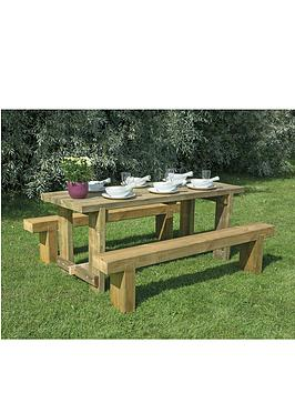 forest-garden-refectory-table-18m-long-and-2-benches