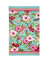 Vintage Tropical Beach Towel