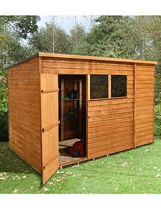 forest-10-x-6ft-overlap-pent-shed-with-optional-assembly