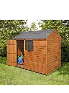 forest-8-x-6ft-reverse-apex-shed-with-optional-assembly-and-base