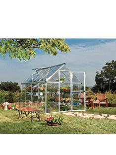 palram-harmony-6-x-8ft-greenhouse-silver