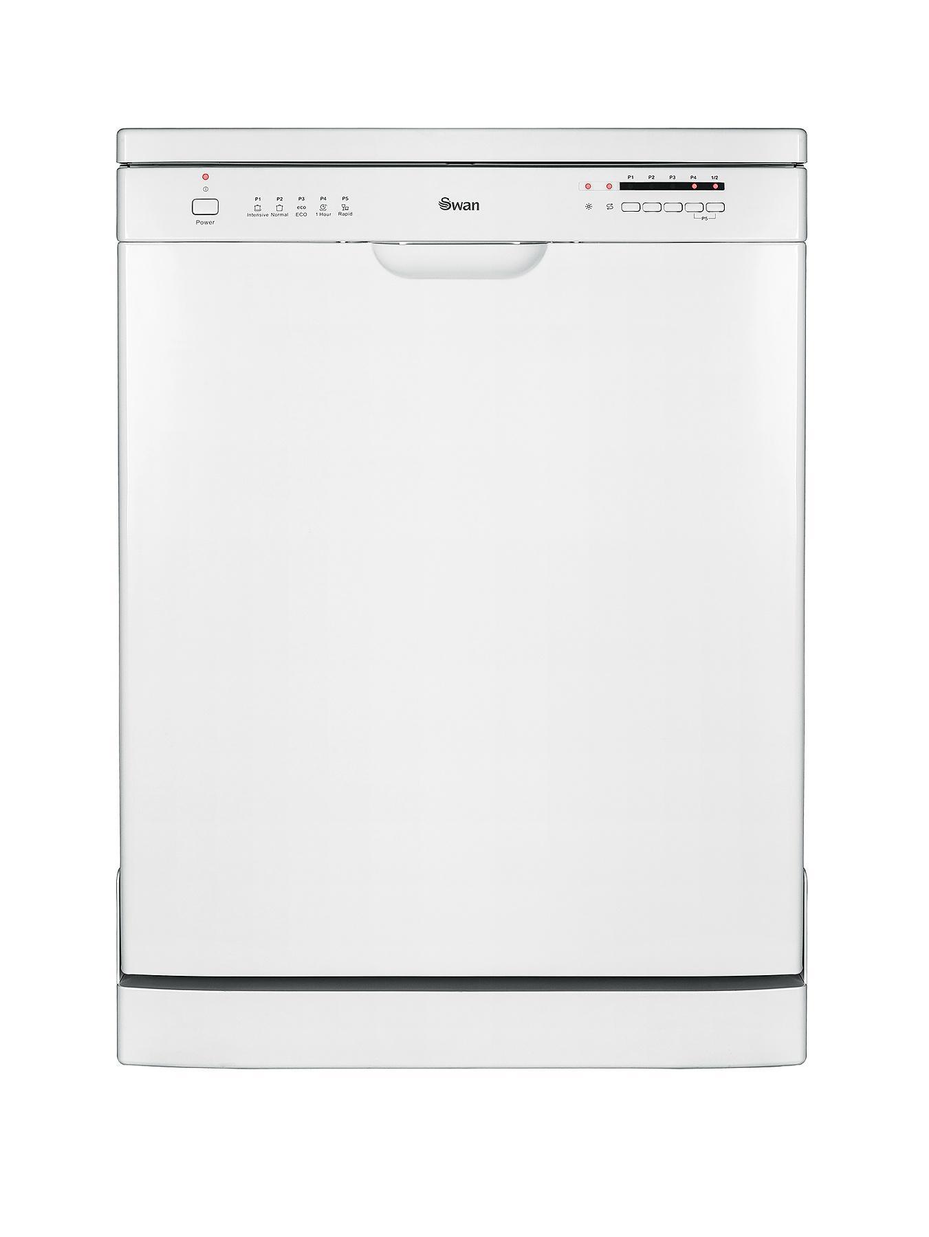 SDW7040W 12-Place Full Size Dishwasher - White at Littlewoods