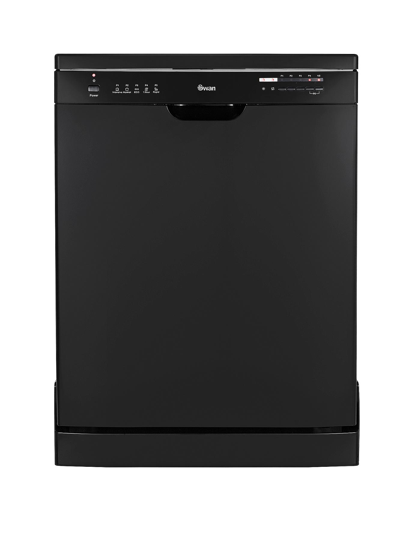 SDW7040B 12-Place Full Size Dishwasher - Black at Littlewoods
