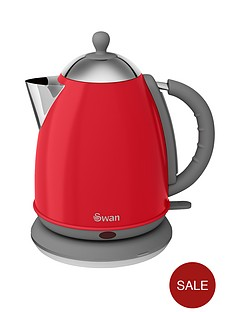 swan-vintage-jug-kettle-red