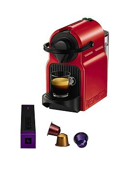 Nespresso Inissia Xn100540 Coffee Machine By Krups  Red
