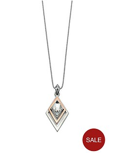 fiorelli-silver-and-rose-gold-coloured-geometric-triangle-necklace-with-swarovski-elements