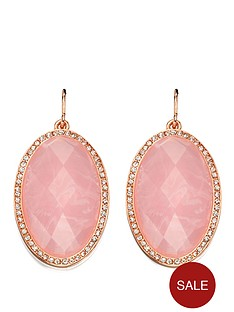 fiorelli-rose-gold-rose-quartz-and-clear-crystal-oval-earrings