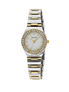accurist-crystal-bezel-two-tone-bracelet-ladies-watch