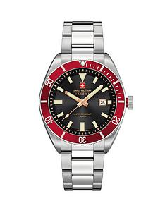swiss-military-red-bezel-stainless-steel-mens-watch