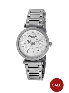 kenneth-cole-crystal-dial-stainless-steel-ladies-watch