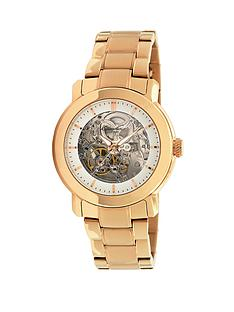 kenneth-cole-skeleton-dial-automatic-gold-tone-bracelet-ladies-watch