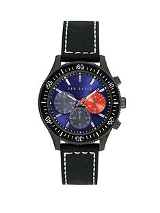 ted-baker-navy-chronograph-dial-black-leather-strap-mens-watch