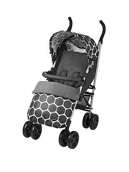 ladybird-stroller-with-footmuff-grey