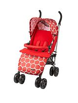 Stroller with Footmuff - Red