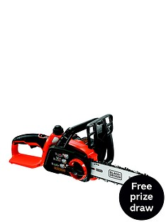 black-decker-gkc1825l20-gb-18-volt-cordless-chainsaw-free-prize-draw-entry