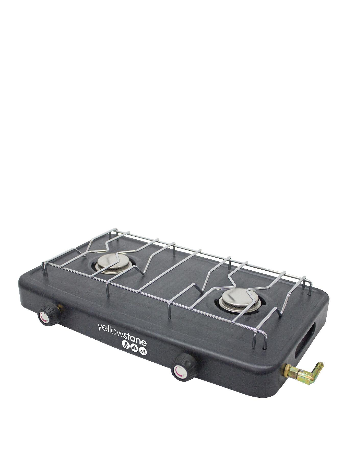 Compact Double Burner at Littlewoods