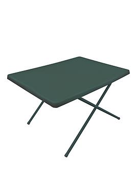 yellowstone-resin-adjustable-table-green