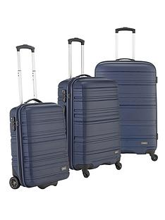 antler-saturn-3-piece-luggage-set-navy