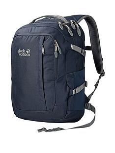 jack-wolfskin-j-pack-de-luxe-office-backpack-blue