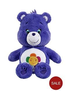 care-bears-medium-plush-harmony-bear-with-dvd